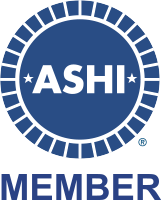 Member of the American Society of Home Inspectors (ASHI)